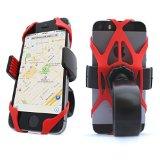 Vibrelli Universal Bike Phone Mount Holder. Fits any Smart Phone: iPhone 6, Samsung Galaxy, Nokia, Motorola. Bicycle Handlebar (& Motorcycle) Compatible Cell Phone Cradle