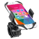Bike Mount,i-Mate Universal Bicycle Motorcycle Handlebar Mount Cell Phone Holder Cradle Adjustable for iPhone 6 6S Plus 5S 5C 4S, Samsung Galaxy S5 S4 S3 Edge Note 2 3 4,Nexus 5,HTC,LG ,GPS Device