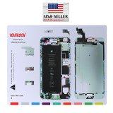US Cellular Parts-iPhone 6 Plus 5.5″ Screw Magnetic Chart Mat Repair Guide Tool