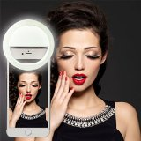 RC Selfie Ring Light for iPhone 6 plus/6s/6/5s/5/4s/4/Samsung Galaxy S6 Edge/S6/S5/S4/S3, Galaxy Note 5/4/3/2, Blackberry Bold Touch, Sony Xperia, Motorola Droid and Other Smart Phones